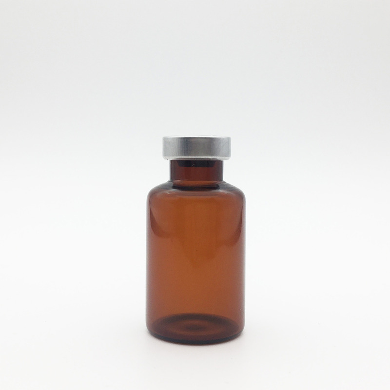 30ml amber sterile vials silvery