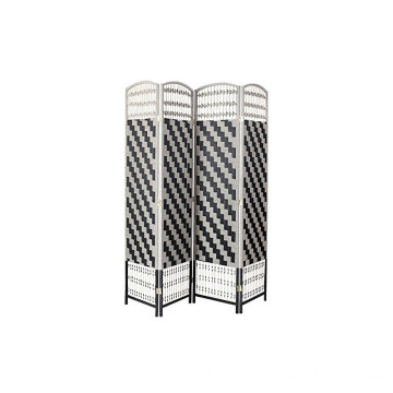 OEM/ODM for Panel Room Divider 6 ft Tall Diamond Weave Fiber Chevron 4 Panel Room Divider export to Uzbekistan Wholesale