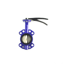 Chinese factory directly provide 3 epdm lining wafer pneumatic butterfly valve