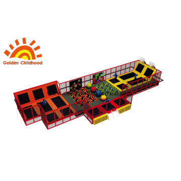 Trampoline Climbing Indoor Equipment For Children