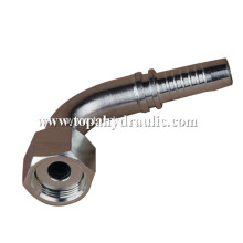 Stainless carbon steel galvanized clamp hose fitting