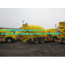 Leading for Cement Mixer Truck Sinotruk Howo 6x4 290hp 9m3 Concrete Mixer Truck export to South Korea Factories