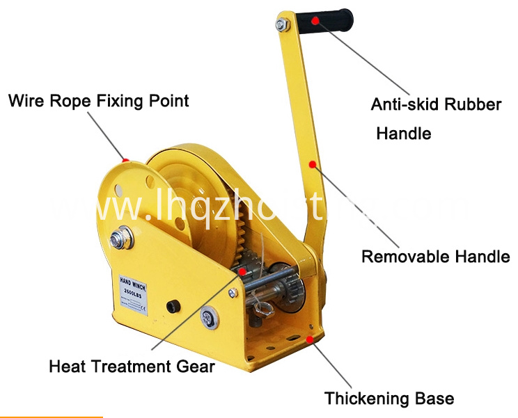 handfdfef manual winch