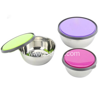 Stainless Steel Crisper Bowl With Cover