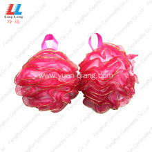 Bottom price for Mesh Sponges Bath Ball Mesh Lace Loofah smooth Sponge Wholesale supply to United States Manufacturer