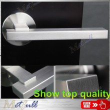 Stainless Steel Rectangular Solid Door Lever Handle