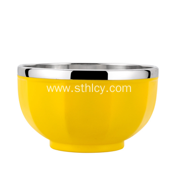 Best Quality Stainless Steel Multicolor Soup Bowl