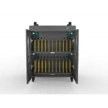 Charging and storage laptops charging cart