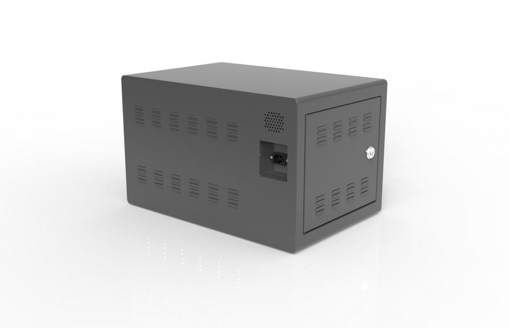 charging station locker for 10 tablets