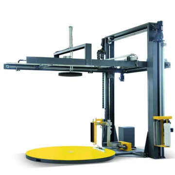 Pallet Wrapping Machine with Integrated Top Sheet Dispenser