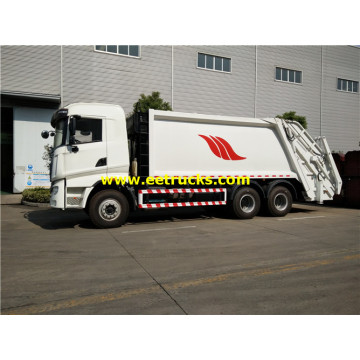 HOWO 18cbm Waste Compressed Trucks