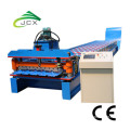 Steel panel roll forming machine