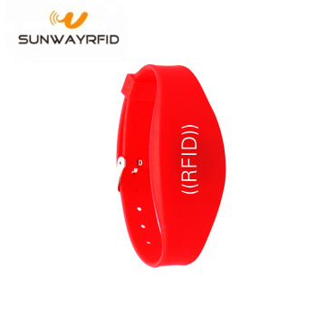 Adjustable Double Frequency RFID Silicone Wristbands