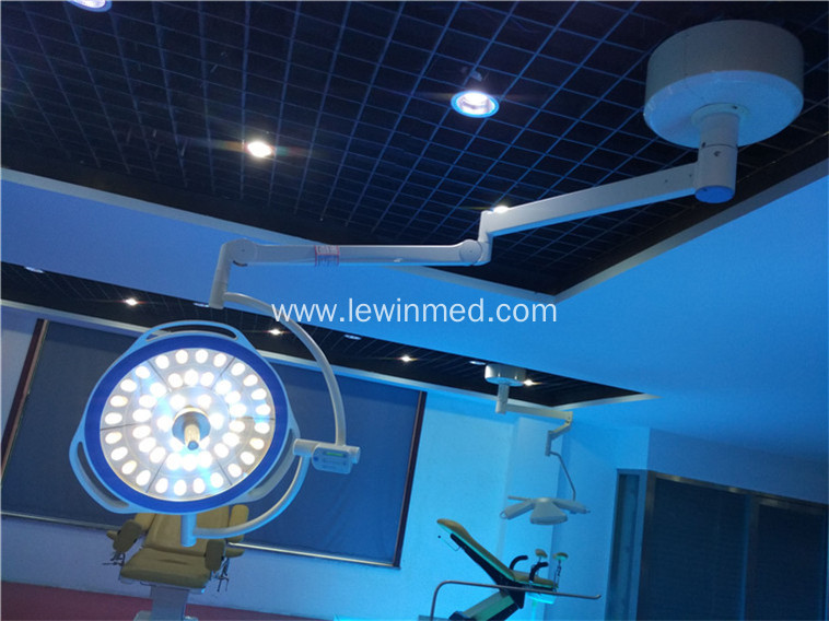Ceiling single dome led medical surgery light
