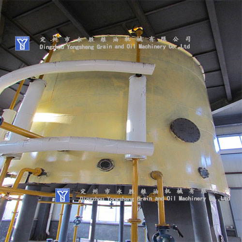 leaching oil machine
