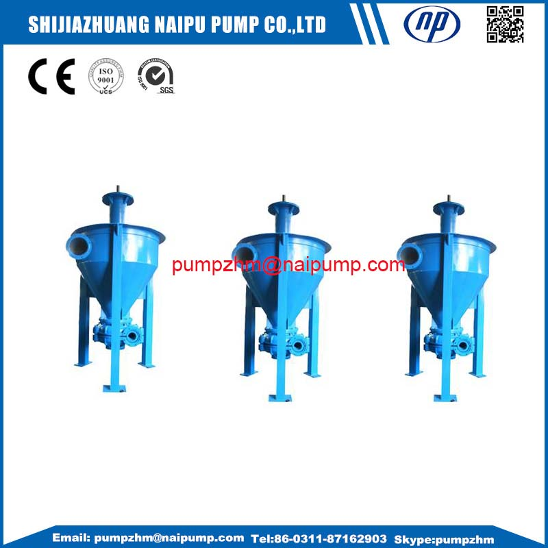 11 vertical froth pumps