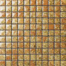 Yellow Glazed Transforming Ceramic Mosaic