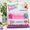 Birthday Party English Letters Praffin Wax Candles