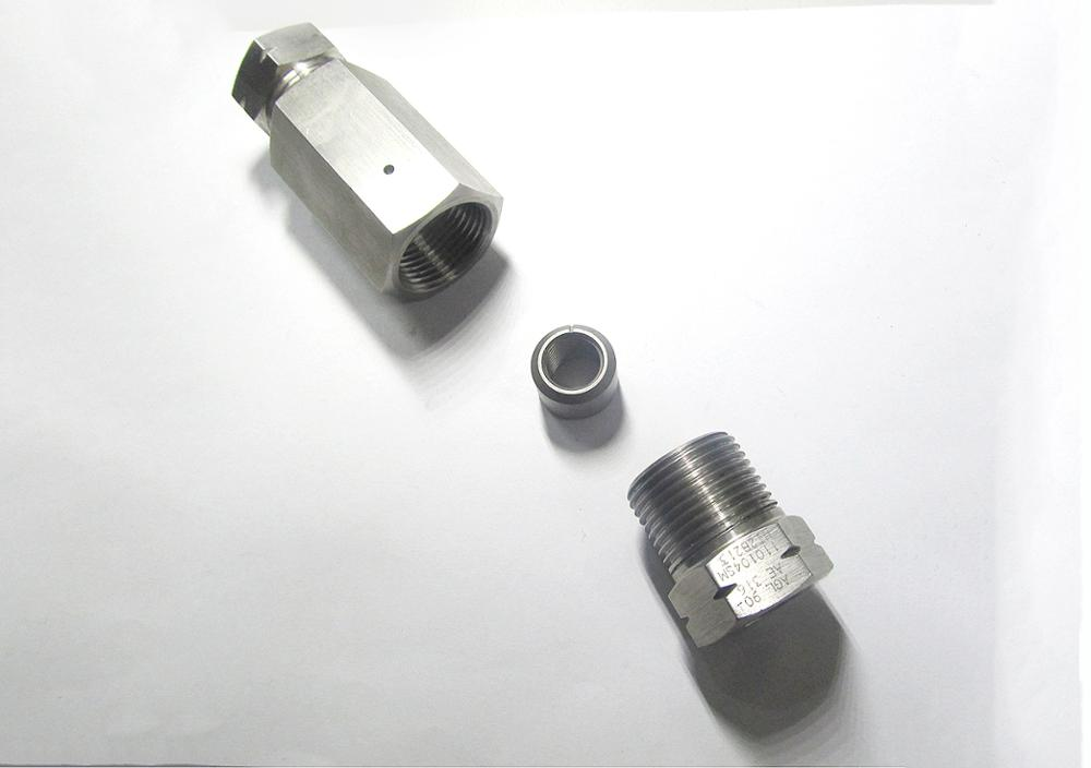 Ultra High Pressure Parts 3 8 Coupling 4