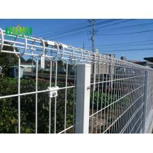 PVC coated BRC wire mesh fence