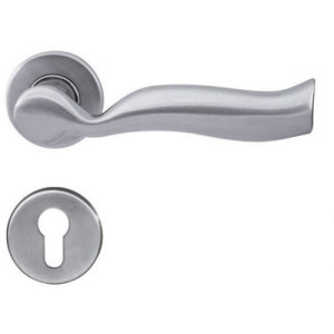 Wave Type Door Hardware Lever Handle