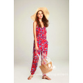 Ladies Printed Viscose Jumpsuit