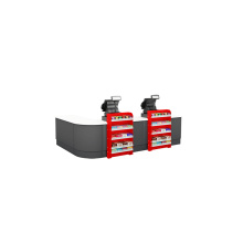 Hot sale for Supermarket Checkout Counter Latest Design Steel Grocery Checkout Counter supply to Mayotte Wholesale