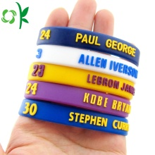 Hot Sale for Embossed Silicone Bracelets Best Quality Made Siliconne Bracelet Wouderful Color export to Spain Suppliers