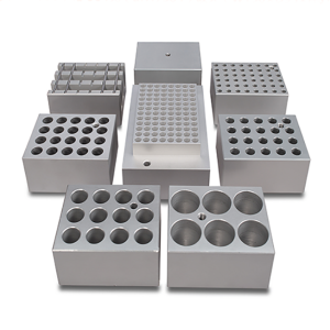 Custom Machining Aluminum Test Tube Heating Block
