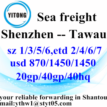 Shenzhen Sea Freight Shipping Services to Tawau