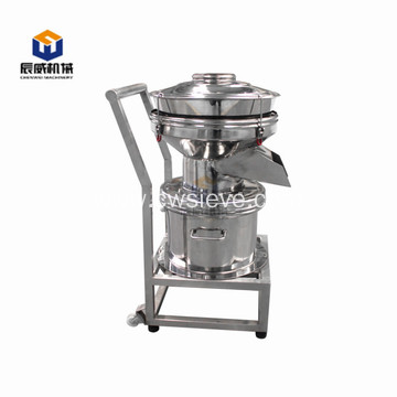 mobile 450 type vibrating filter for coating material