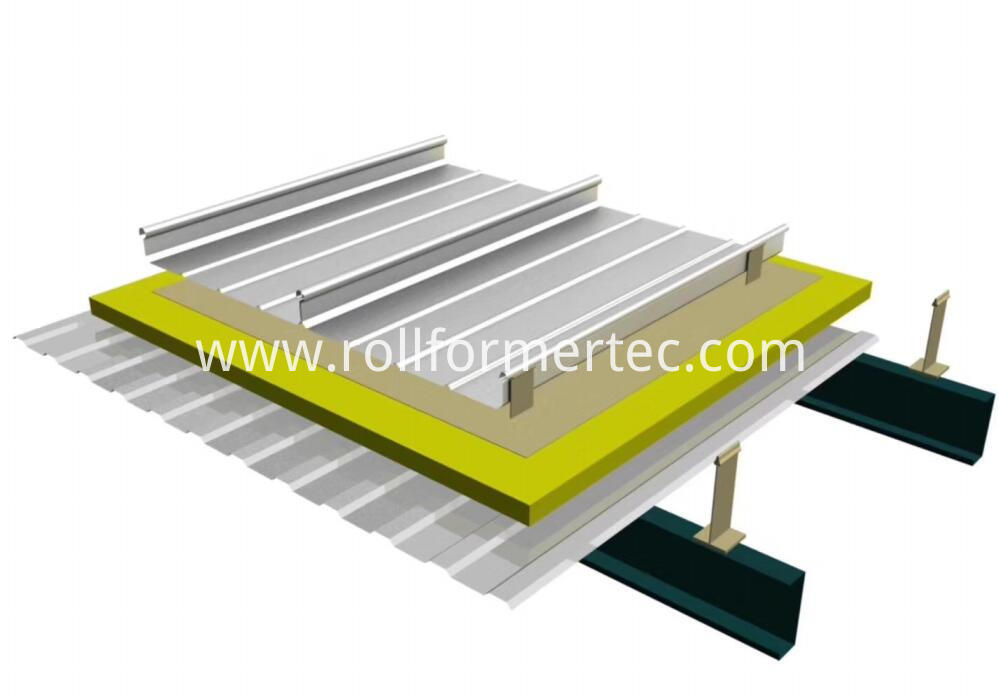 standing seam panel roll forming machine 3