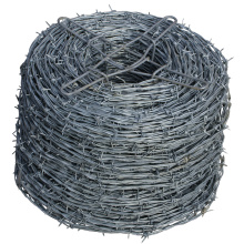 Galvanized 4 Point Barbed Wire Fence