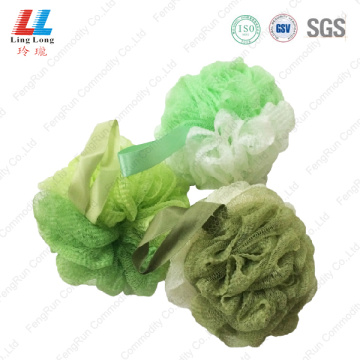 Enchanting squishy bath loofah ball