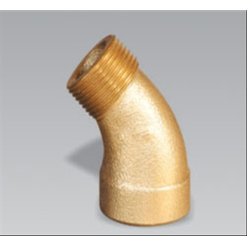 Leading for Brass Compression Nipple Brass 45' Male & Female Elbow supply to Russian Federation Factory
