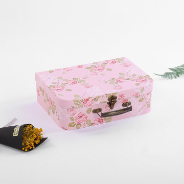 small cardboard paper suitcase paper products