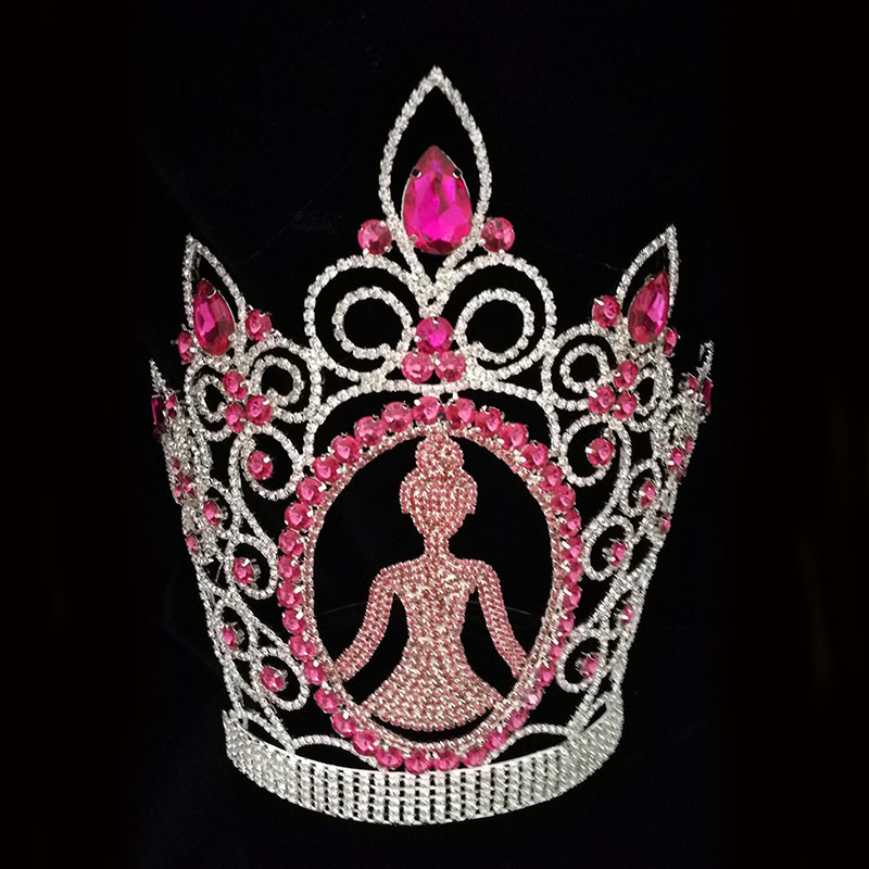 Queen Princess Tiara Pageant Rhinestone Crown