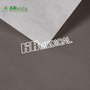 Anti-slip PE film coated with PP nonwoven fabric
