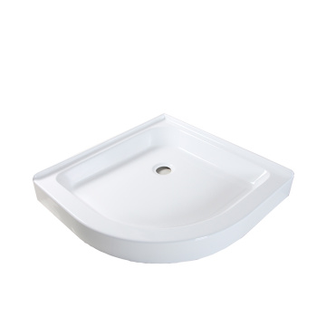 32x32 Inch Round Corner Shower Pan Base