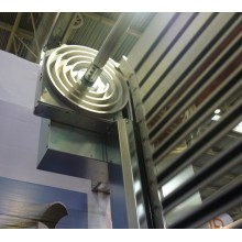 Aluminum security roller  shutter door