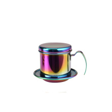 Colorful FoodGrade StainlessSteel VietnameseCoffee Maker