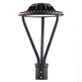 Post Top 30W Black LED Pole Light