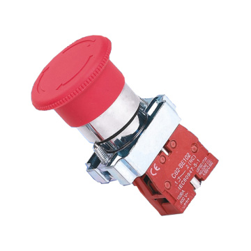 Newly Arrival for Waterproof Push Button Switch XB2-BS542 Mushroom Pushbutton Switch export to Kuwait Exporter