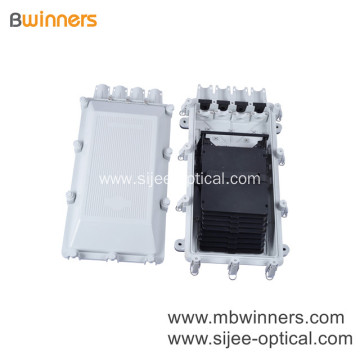 48 Core Fiber Optic Splice Enclosure With Plc Splitter Outdoor Distribution Box Waterproof Ip68