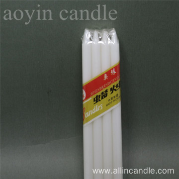 8pcs Paraffin wax candle 16g stick candle