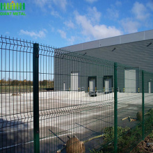 high quality PE coated welded fencing for sale