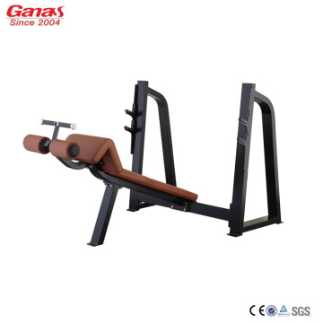 China New Product for Cardio Gym Equipment Best Gym Machine Olympic Decline Bench Press supply to Spain Factories