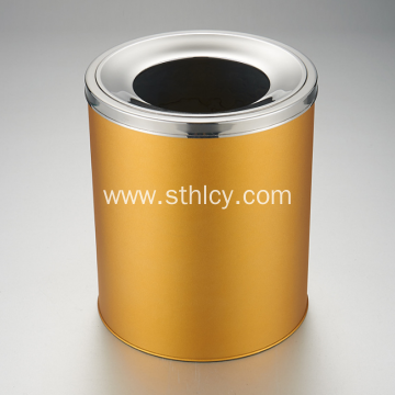 Non Magnetic Stainless Steel Multicolor Trash Can