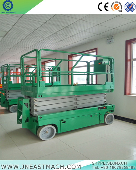 China Electric Self Propelled Scissor Lift Table