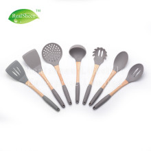 China for Silicone Cooking Utensils 7 Piece Cookward Kitchen Utensil Set export to Japan Supplier